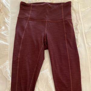 Athlete burgundy leggings size XXS!